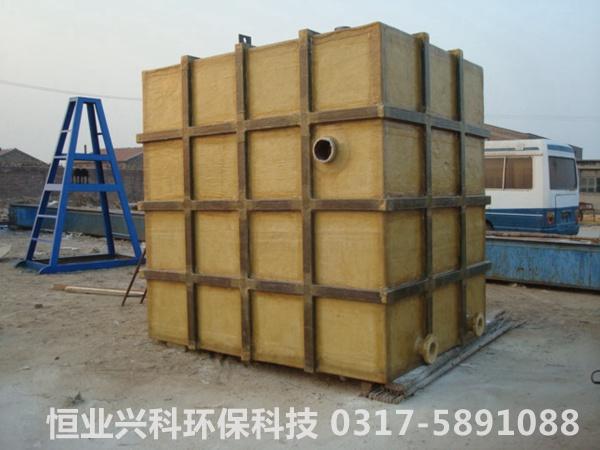 整体式矩形结构水箱