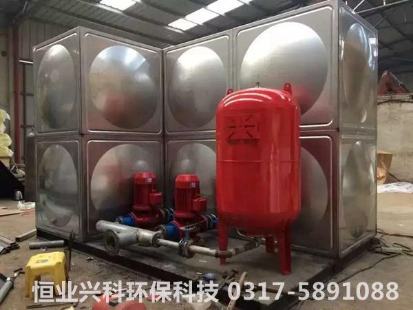 方形不锈钢水箱机组