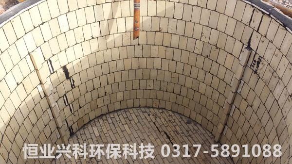 耐酸砖施工