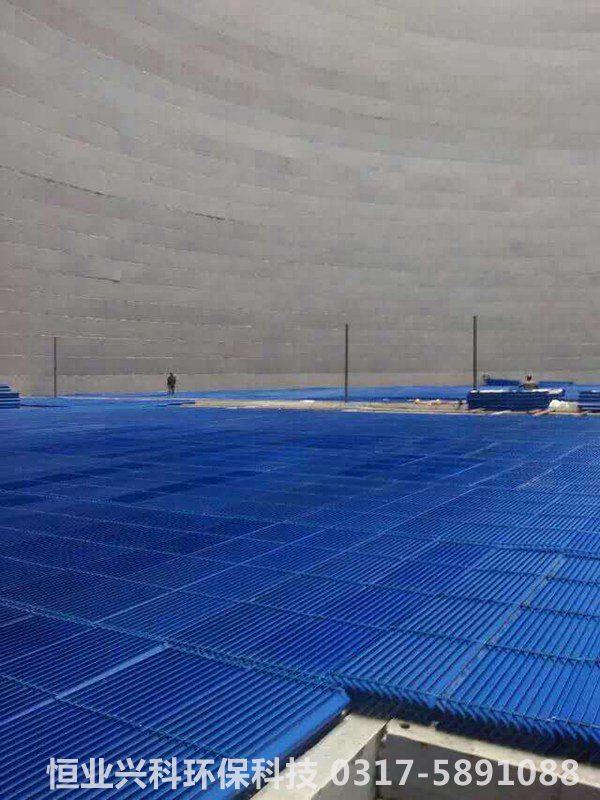电厂双曲线冷却塔内部收水片
